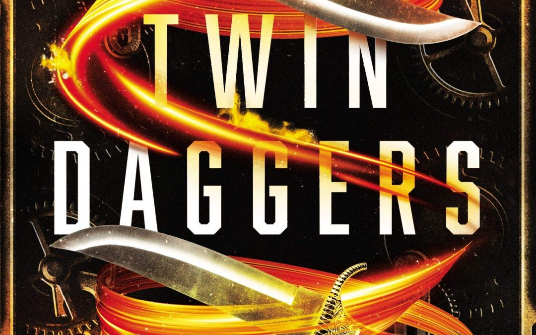 TWIN DAGGERS Cover Reveal!!